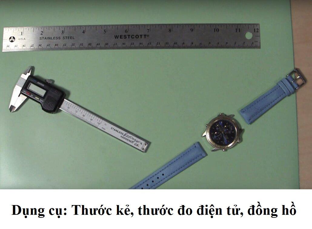 (Infographic) Cách chọn kích thước dây đồng hồ phù hợp