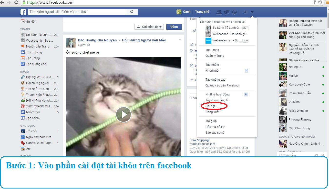 (Infographic) Hướng dẫn cách tắt chế độ tư phát video trên facebook