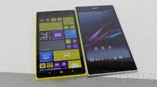 [Infographic] So sánh Nokia Lumia 1520 và Sony Xperia Z Ultra
