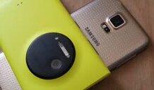 [Infographic] So sánh Nokia Lumia 1020 và Samsung Galaxy S5