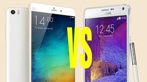 [Infographic] So sánh Xiaomi Mi Note Pro và Samsung Galaxy Note 4