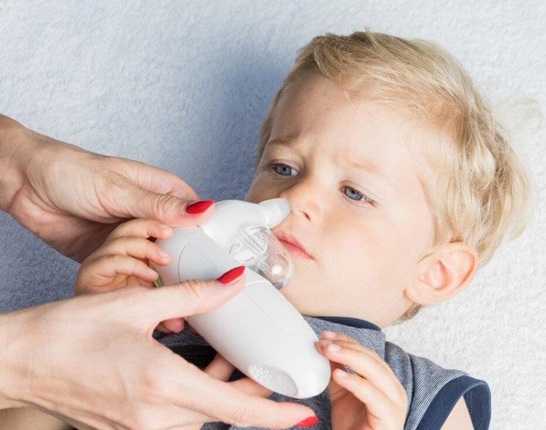 Máy hút mũi trẻ em chạy pin