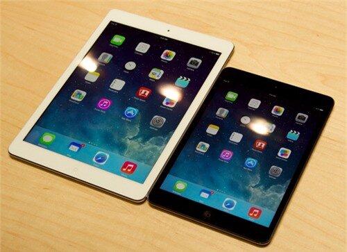 iPad Mini Retina và iPad Air chính hãng giá từ 10,2 triệu đồng