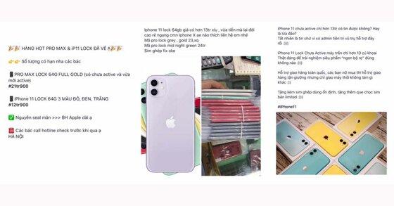 iPhone 11 lock khóa mạng giá rẻ 13 triệu đồng nhưng có nên mua không?