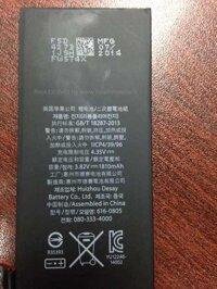 iPhone 6 sẽ có pin dung lượng 1.810 mAh