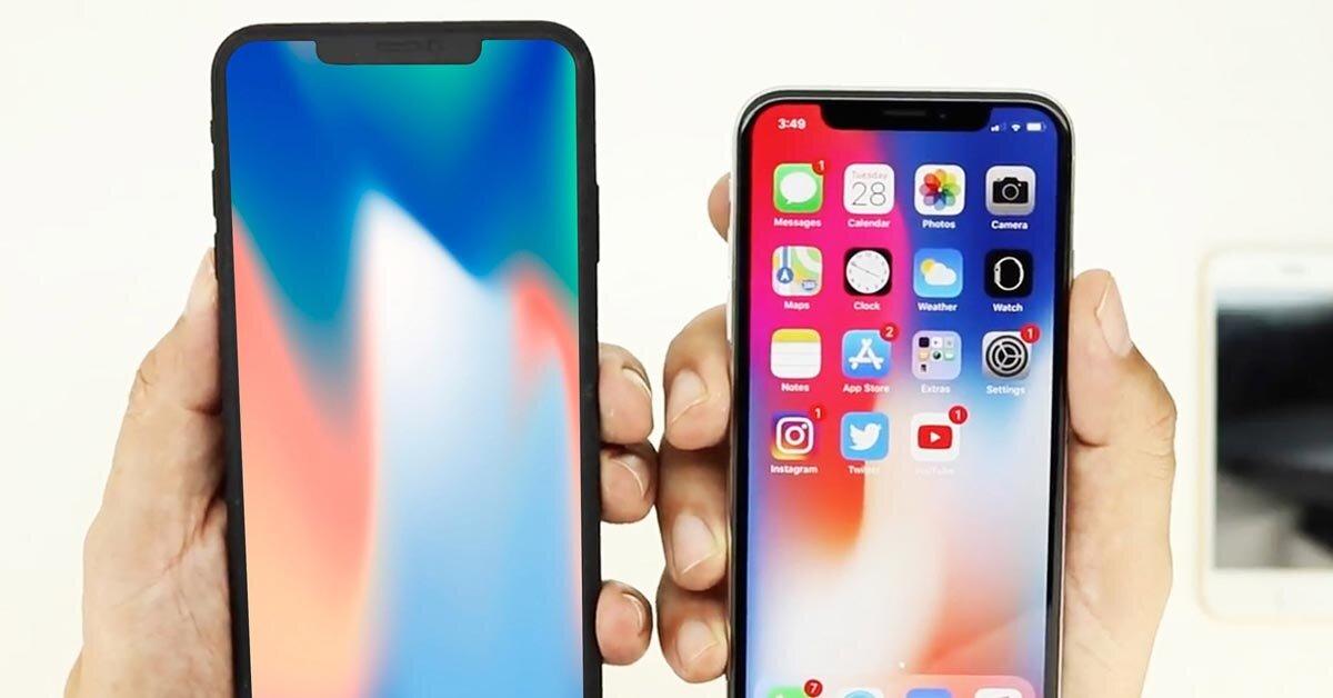 iPhone X 2018 sẽ sử dụng tấm nền màn hình do LG cung cấp