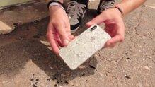 iPhone X bị vỡ tan tành mặt kính sau phút bất cẩn của người dùng