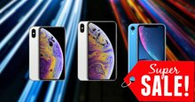 iPhone XS Max, iPhone XS và iPhone XR chính hãng giảm giá SỐC dịp Black Friday 2018