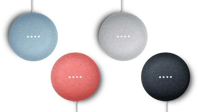 màu sắc loa google Nest