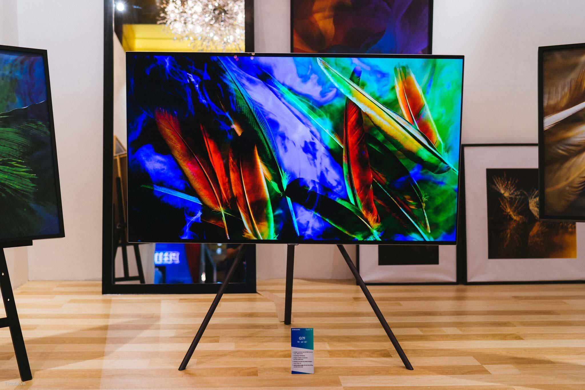 Tivi thông minh của Samsung có thiết kế đẹp