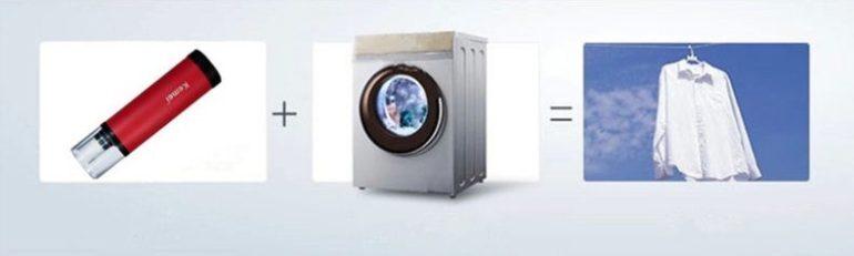 Máy giặt mini cầm tay Kemei KM-9151 là trợ thủ đắc lực của các bà nội trợ