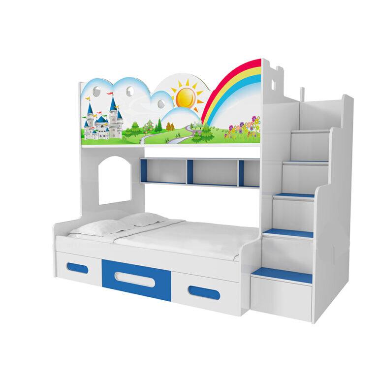 Giường 2 tầng trẻ em đa năng