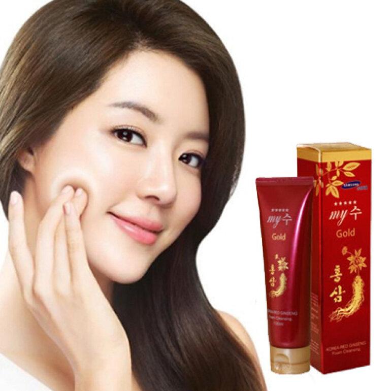 sữa rửa mặt My Gold Hàn Quốc