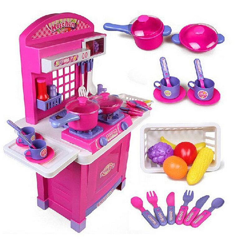 Đồ chơi nấu ăn cho bé nhiều màu sắc