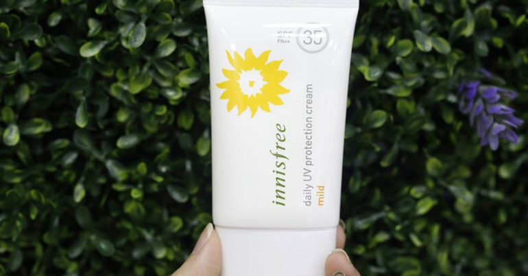 Kem chống nắng Innisfree Daily UV Protection Cream Mild