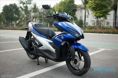 Đánh giá xe máy Yamaha NVX