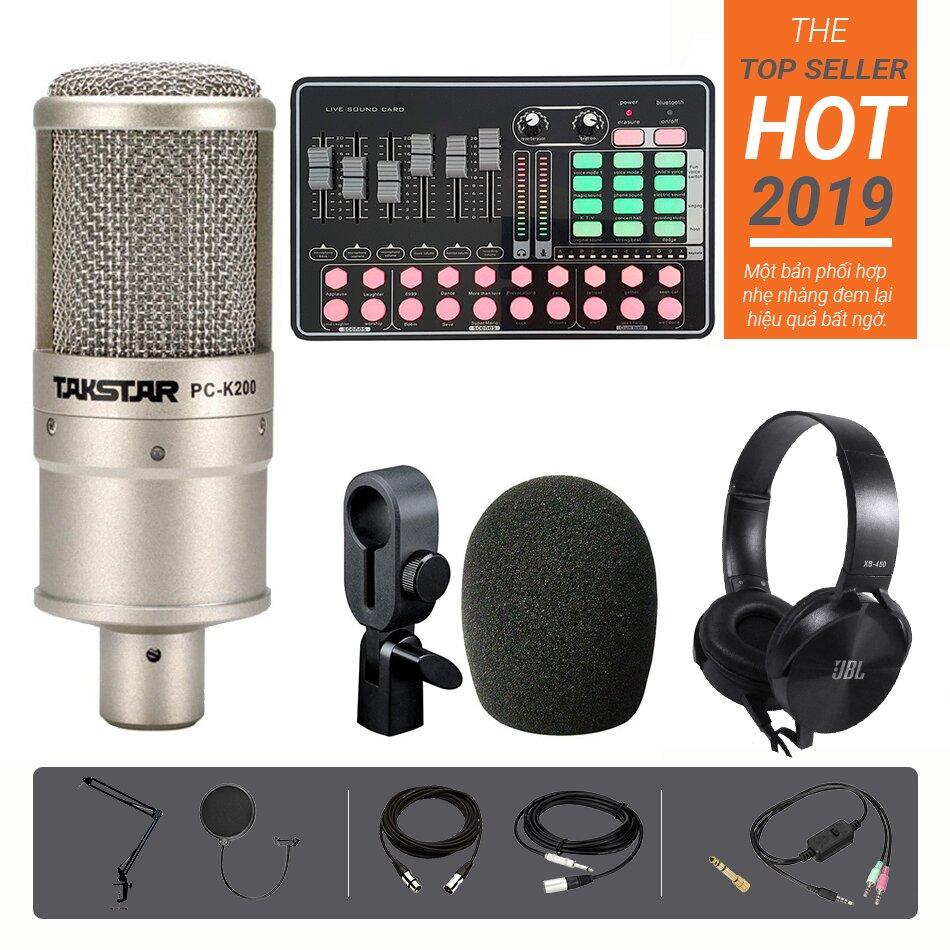 Microphone Takstar PC-K200, sang trọng và nhỏ gọn