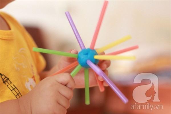 Những trò chơi mà học sáng tạo với ống hút 7