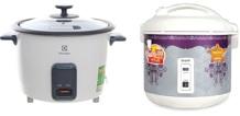 So sánh nồi cơm điện Sharp KS-18ETV và nồi cơm điện Electrolux ERC1001