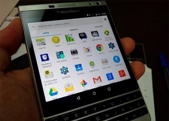 BlackBerry Passport Silver Edition có thể chạy Android?
