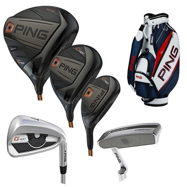 Gậy golf Ping là thương hiệu sản xuất và kinh doanh gậy golf và các thiết bị sân golf nổi tiếng của Mỹ