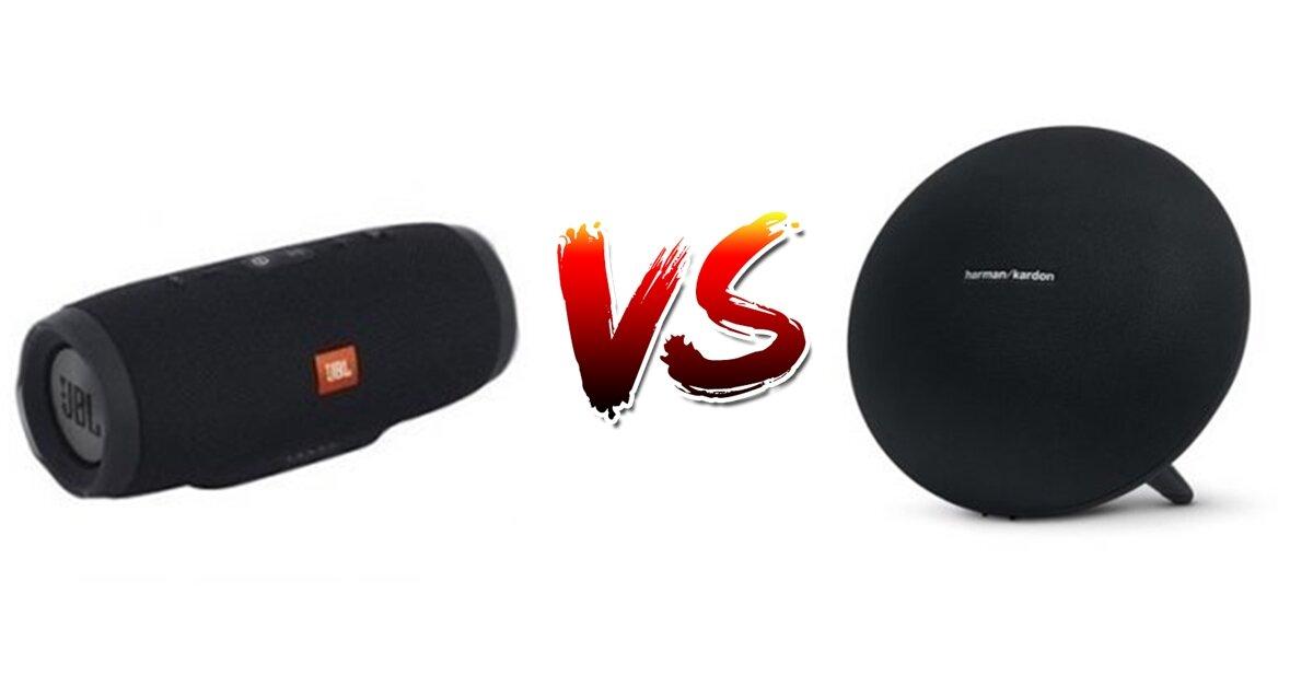 JBL Charge 3 vs Harman Kardon Onyx Studio 3: Nên rinh em nào?