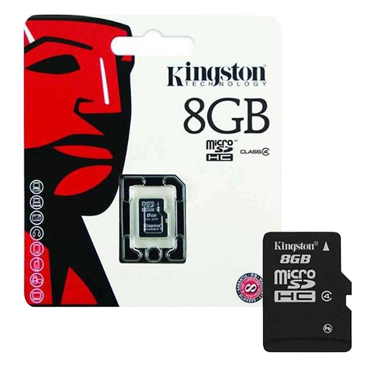 Thẻ nhớ 8GB Kingston Class 4