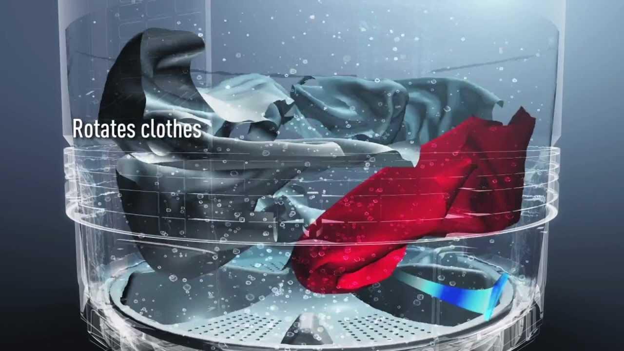 Máy giặt lồng đứng của thương hiệu nổi tiếng Panasonic