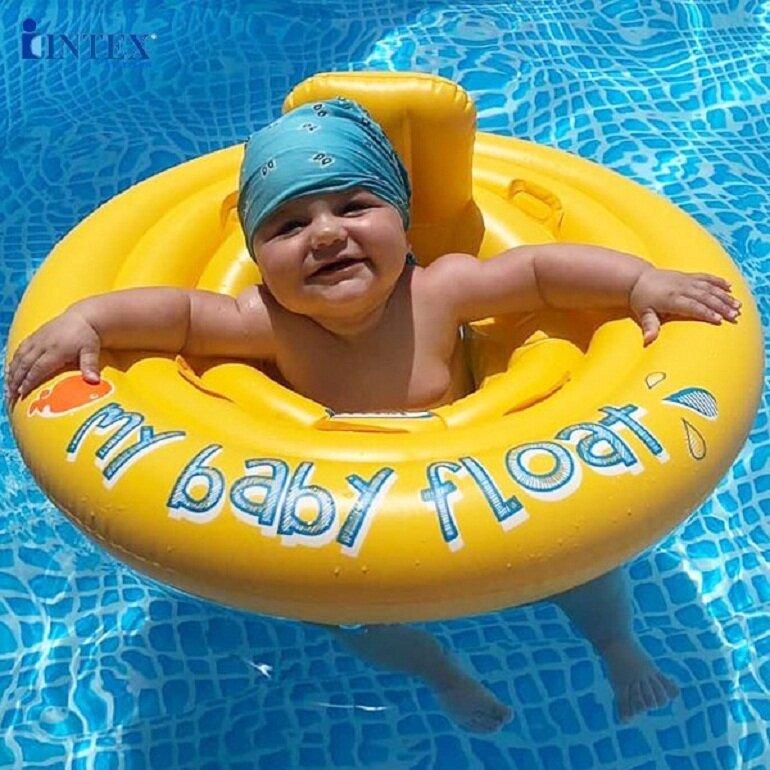Phao bơi cho bé 1 tuổi INTEX 56585