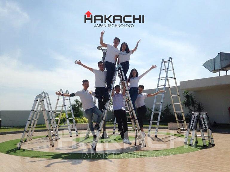 thang nhôm hakachi
