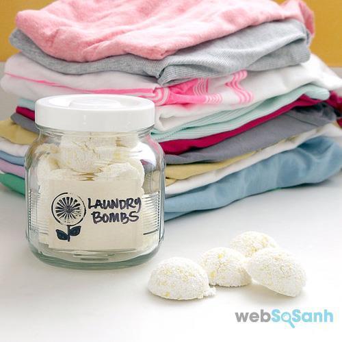 cách làm bột giặt tự chế diy
