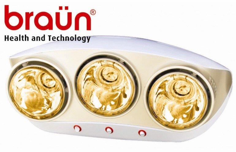 Đèn sưởi Braun Kohn KU03G