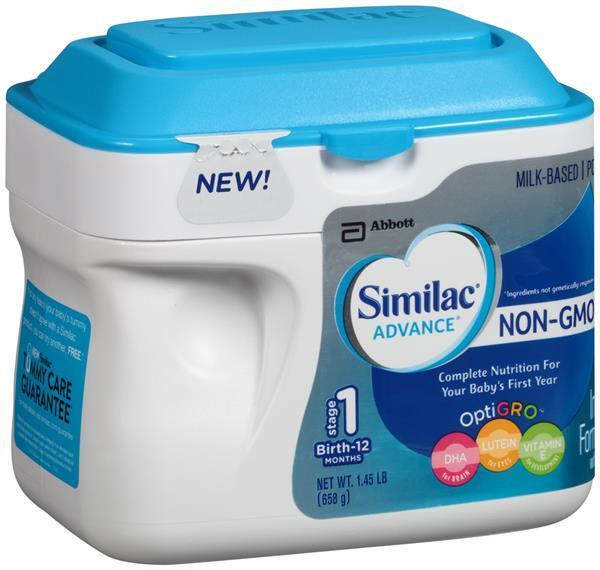 sữa công thức Similac Advance NON GMO