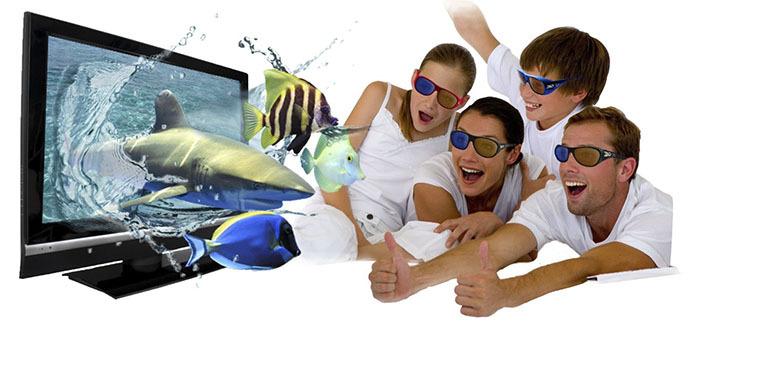 Khám phá những điều thú vị của công nghệ 3D trên tivi