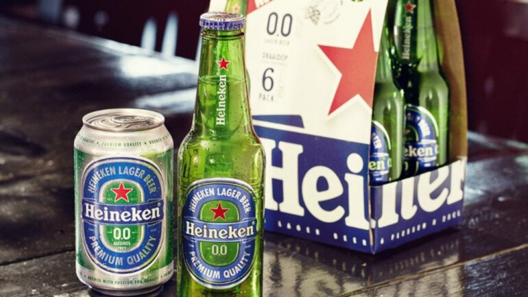 Giá bia Heineken không cồn bao nhiêu tiền?