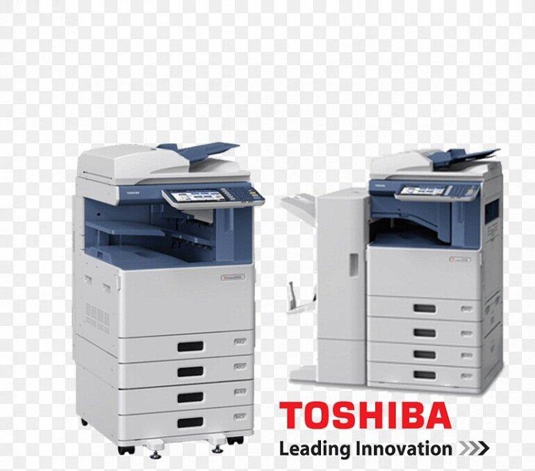 Máy photocopy toshiba.