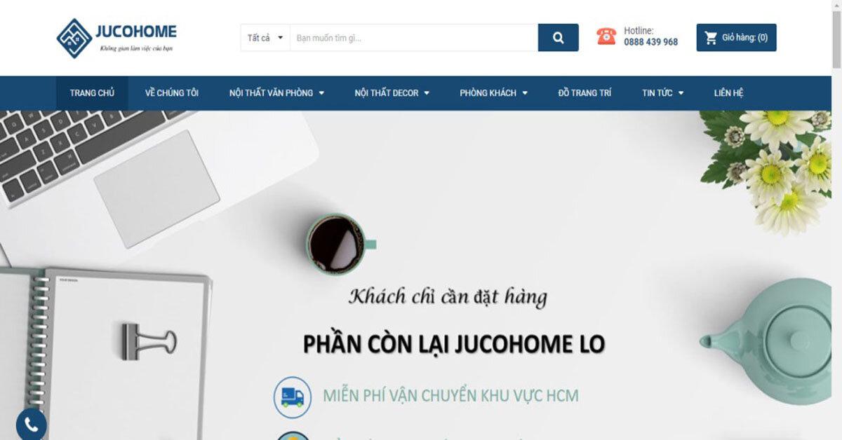 Jucohome.vn – đơn vị phân phối nội thất làm việc, văn phòng hiện đại giá tốt tại thành phố Hồ Chí Minh