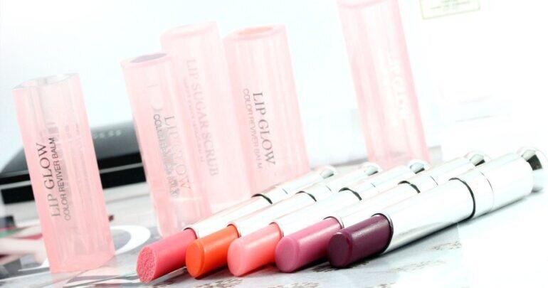 Bảng màu son dưỡng Dior