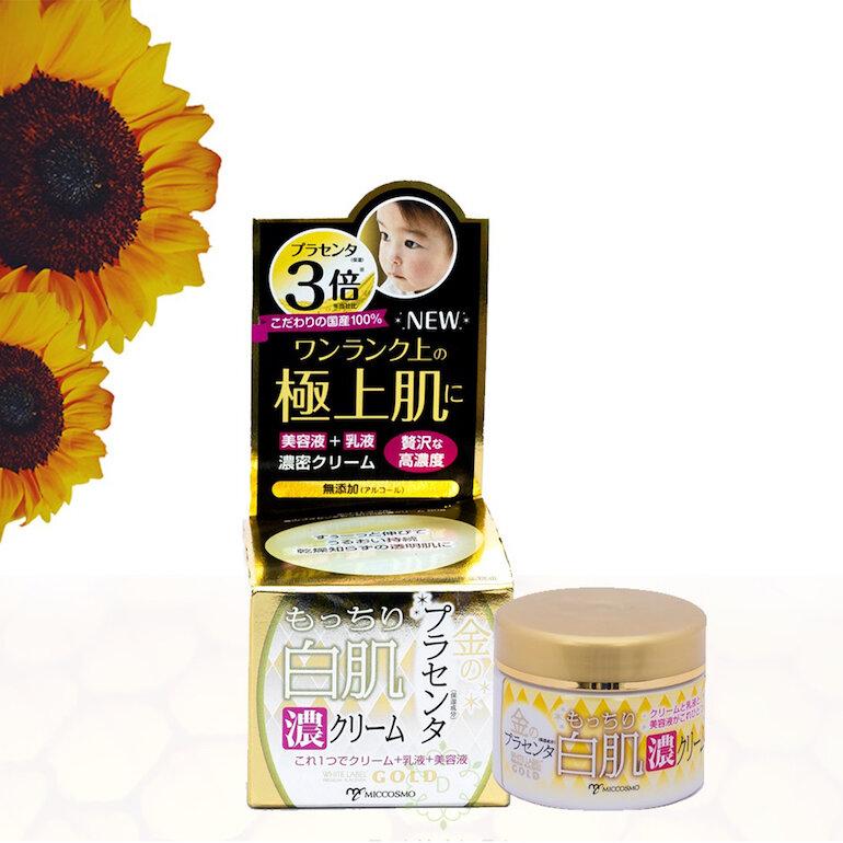 Kem dưỡng da chống lão hóa White Label Placenta Rich Gold Cream