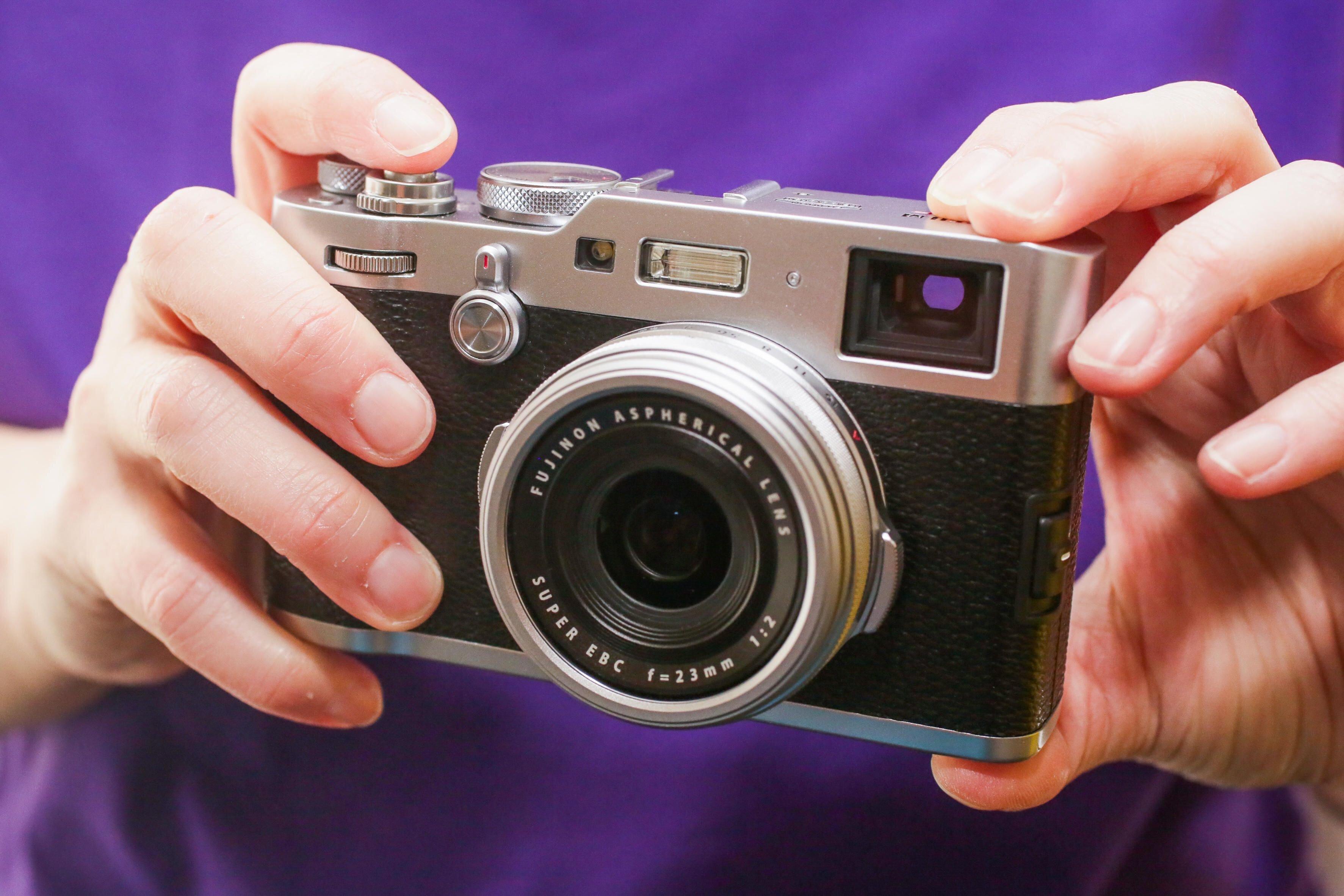 Mẫu máy Fujifilm X100F