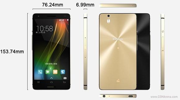Kích thước smartphone cao cấp InFocus M801