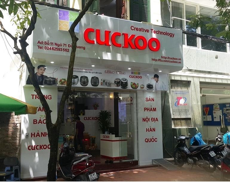 nồi cơm điện cuckoo