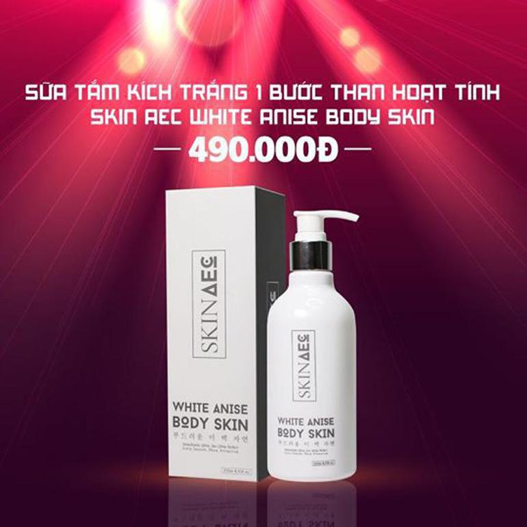 sữa tắm trắng Skin AEC