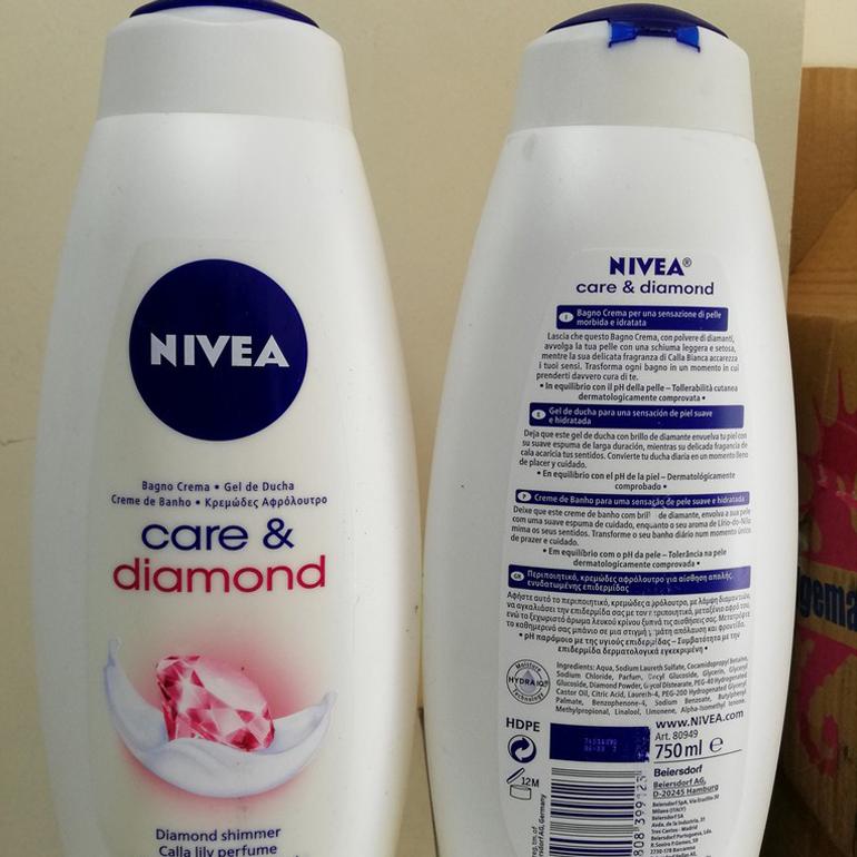 Review sữa tắm Nivea Care And Diamond có tốt không? Giá bao nhiêu? | monmientrung.com
