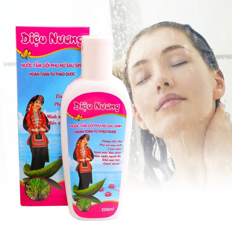 Nước tắm gội phụ nữ sau sinh Diệu Nương
