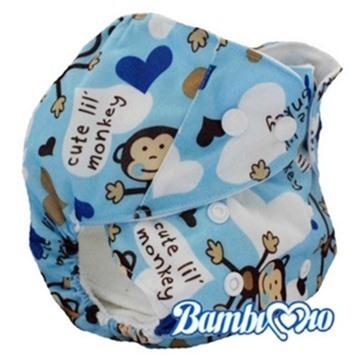 Tã vải Blue Monkey Bz Bambi Mio (13kg - 24kg)