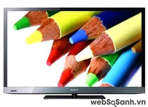 KDL-40EX520: TV 40 inch kết nối Internet của Sony, giá từ 16,9 triệu