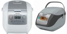 So sánh nồi cơm điện Toshiba RC-18NMF và nồi cơm điện Sharp KS-COM19V