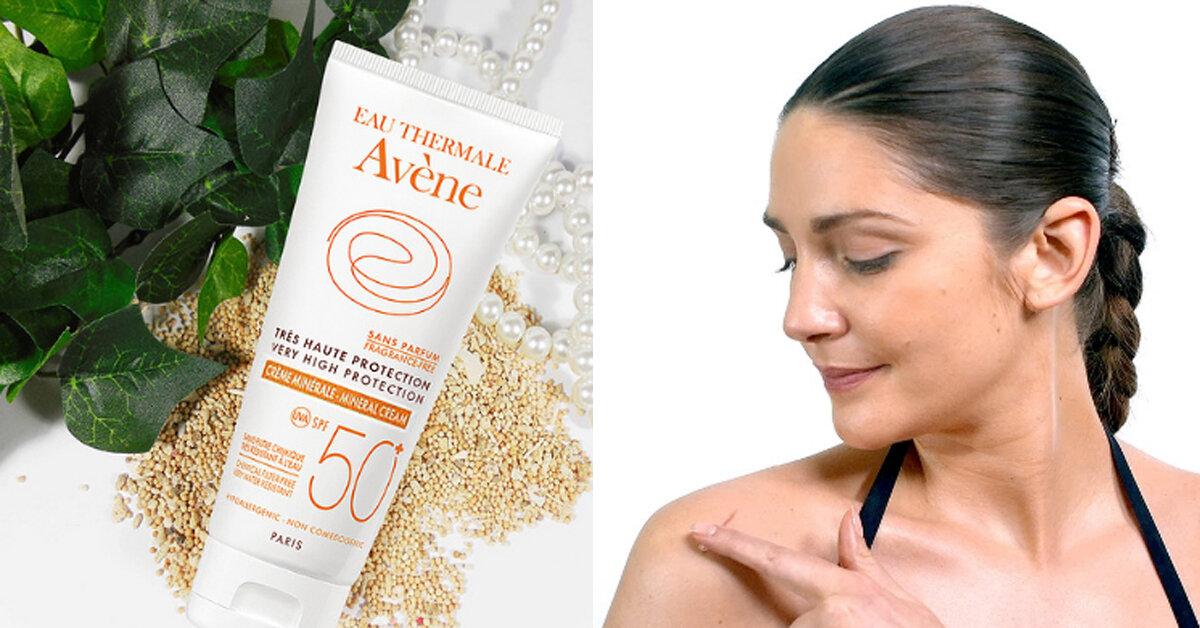 Kem chống nắng Avène Very High Protection Mineral Cream SPF 50+  có tốt không ? Mua ở đâu ?