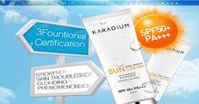 Kem chống nắng Karadium dùng có tốt không? Có giá bao nhiêu?